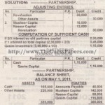 ACCOUNTING Past Paper 2nd year 2011 (Private) Karachi Board