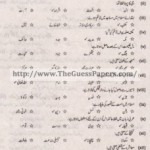 Islamic Studies Solved Past Paper 1st year 2014 Karachi Board