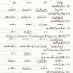 Islamic Studies Solved Past Paper 2nd year 2013 Karachi Board
