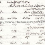 PAKISTAN STUDIES (URDU) Solved Past Paper 2nd year 2011 Karachi Board