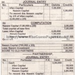 ACCOUNTING Past Paper 2nd year 2012 (Regular) Karachi Board