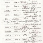 URDU IKHTIYARE Solved Past Paper 2nd year 2012 Karachi Board