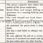 English Solved Past Paper 2nd year 2013 Karachi Board