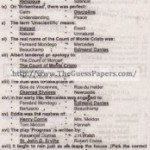 English Solved Past Paper 1st year 2011 Karachi Board