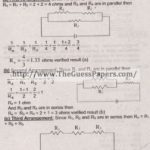 Physics Solved Past Paper 2nd year 2012 Karachi Board