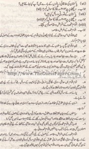 Pak Study Urdu Solved Past Paper 2nd year 2011 Karachi Board (Regular)5