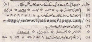 Pak Study Urdu Solved Past Paper 2nd year 2013 Karachi Board (Private)