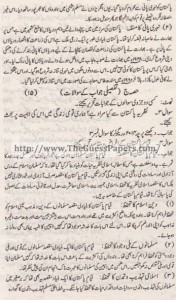 Pak Study Urdu Solved Past Paper 2nd year 2013 Karachi Board (Private)3