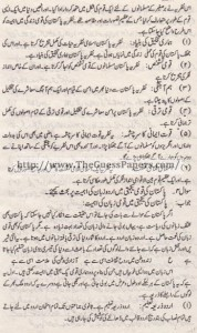 Pak Study Urdu Solved Past Paper 2nd year 2013 Karachi Board (Regular)7