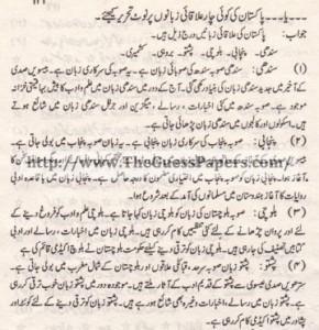 Pak Study Urdu Solved Past Paper 2nd year 2014 Karachi Board (Private)6