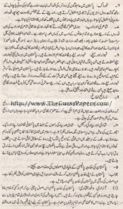 Pak Study Urdu Solved Past Paper 2nd year 2015 Karachi Board (Regular and Private)10