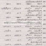Pakistan Studies in urdu Solved Past Paper 2nd year 2014 Karachi Board