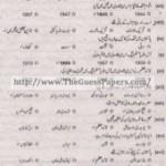 Pakistan Studies in urdu Solved Past Paper 2nd year 2014 Karachi Board