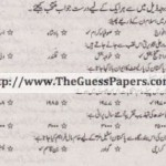 Pakistan Studies in urdu Solved Past Paper 2nd year 2011 Karachi Board