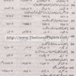 Pakistan Studies in urdu Solved Past Paper 2nd year 2015 Karachi Board