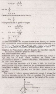 Physics Solved Past Paper 2nd year 2015 Karachi Board13