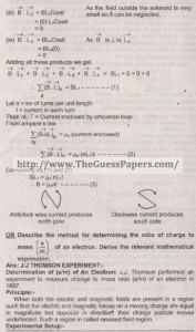 Physics Solved Past Paper 2nd year 2015 Karachi Board21