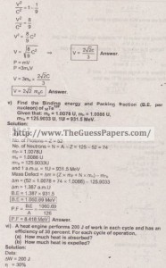 Physics Solved Past Paper 2nd year 2015 Karachi Board5
