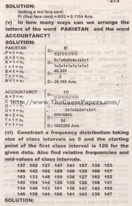 STATISTICS Solved Past Paper 2nd year 2012 Karachi Board (Regular)3