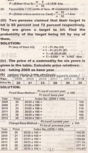 STATISTICS Solved Past Paper 2nd year 2014 Karachi Board (Private)2
