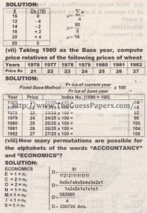 STATISTICS Solved Past Paper 2nd year 2014 Karachi Board (Regular)3