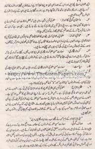 Urdu Past Paper 2nd year 2014 (Regular) Karachi Board12