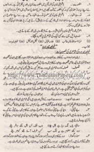 Urdu Past Paper 2nd year 2014 (Regular) Karachi Board18