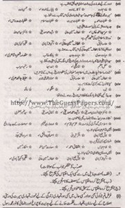 Urdu Solved Past Paper 2nd year 2013 Karachi Board1