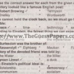 English Solved Past Paper 2nd year 2012 Karachi Board